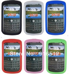 Chromatic Silicone Case for Blackberry 9630(China (Mainland))
