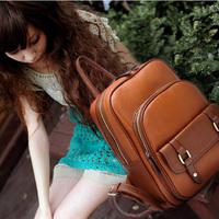 Women's handbag student bag fashion personality backpack school bag casual backpack 699