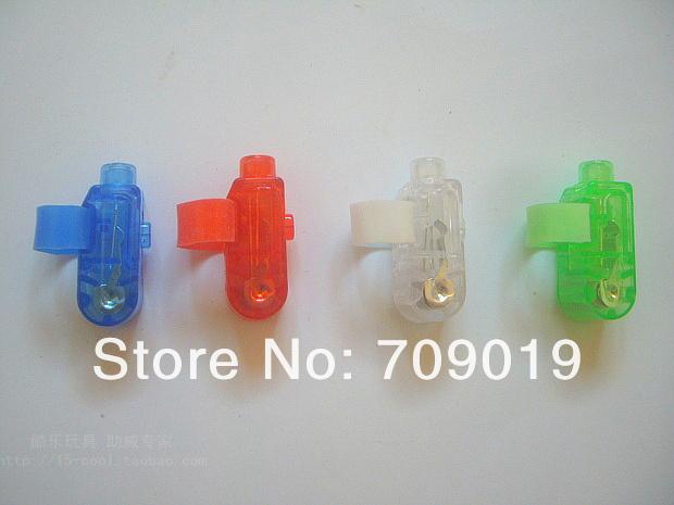 DHL Free shipping 2000 pcs/lot Colorful Finger Lamp Laser Led Finger Lights Halloween Light Christmas Festival Gift (OPP bag)(China (Mainland))