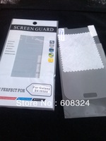 For Galaxy S4 Screen protector free cloth or With retail packaging 600pcs /LOT  screen protector and  cloth each 600