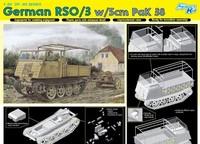 Dragon model 6684 1/35 German RSO/3 w/5cm paK 38 plastic model kit