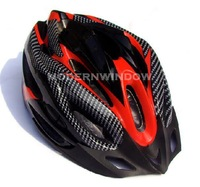 Free Shipping Bicycle Adult Mens Bike Helmets Red Blue Yellow Carbon Colour Cycling motorcycle sports helmet Retail Wholesale