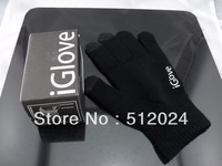(100pair/lot ) freeshipping 10Colors IGlove Screen touch Gloves Multicolor Christmas Gift High grade box Man Woman Iphone glove