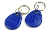 Free Shipping stable 125kHz RFID Proximity ID Token Tag Key Keyfobs with 10pcs/lot