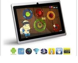 DHL Free shipping 10pcs/lot Q88 7'' Single Camera A13 Tablet PC Android 4.0 Capacitive screen 512 4G/8G 2800mAh(China (Mainland))