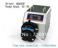 WG600F Intelligent Industrial Peristaltic Pump  for water pumps fluid / YZ35 Pump head