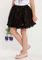Wholesale 5 pcs summer black white Children Girl Kids baby sweet lovely princess lace pattern cotton skirt clothing PDXS42P04