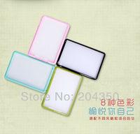 matter soft bumper bard back cover PC + TPU case For ipad mini  free shipping 5pcs/lot