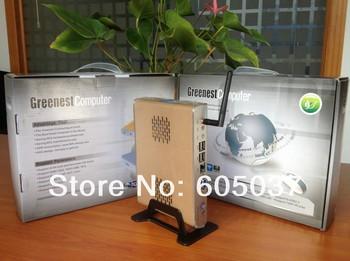 2013 new arrival cheap price Thin Client Computer Mini desktop PC with Intel Atom N270 1.60Ghz 1GB RAM 8GB SSD 32 Bit