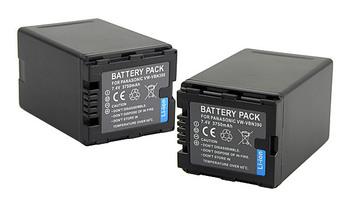 CE 3750mAh Camera Battery Best replace for original Panasonic VW-VBN130,VW-VBN26 E1013P Fshow