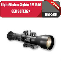 Night Vision Sights RM-580 GEN SUPER2+/Lens magnification,X4.4,built in infrared illuminator&One year warranty+Free shipping