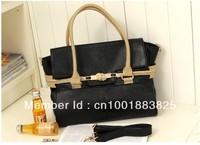 Free Shipping hot ladies' PU bag, fashion handbag,Europe and the temperament  spinner bag portable oblique female bag