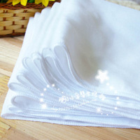 Newborn 100% cotton gauze handkerchief feeding towel