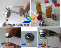 10ml glass vials with cap and crimper set