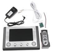 7 Inch Video Door Phone Doorbell Intercom Kit 1-camera 1-monitor Night Vision, freeshipping