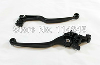 motorcycle parts Black Brake Clutch Levers For Suzuki Katana 600F 2001 2002 2003 2004 2005 2006 for Suzuki Katana 750F 1989-2006