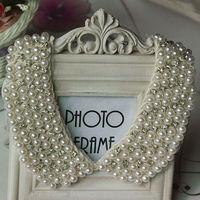 Pearl collar necklace free shipping Handmade 2012 new fashion collar/Romantic Chocker necklace/chain collar
