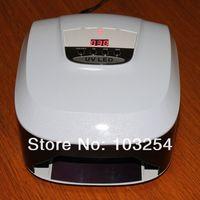 Free shipping  8 pcs/ lot 45 watts LED-1 Nail UV Lamp , 5 watts X 9 pcs led bulbs 110V-250V