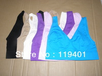 X031 ! HOT Bra Set,Seamless Pullover/V-neck,Wide Shoulder Straps/Total Comfort Guaranteed / Ahh (No Retail Box)