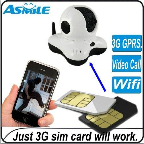 Home security 3g sim ip camera(China (Mainland))