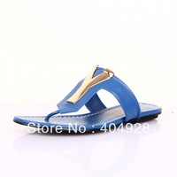 2632 2013 new  arrivals fashion women sandals slipper  guaranteed 100% genuine leather wholesale and retail