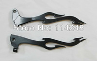 Black Flame Brake Clutch Levers For Yamaha XV250 1994 1995 1996 1997 1998 1999 for Yamaha XV700 for Yamaha XV750