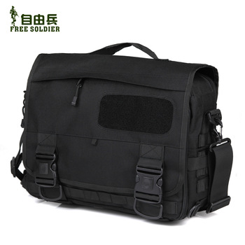 Outdoor tactical briefcase messenger bag molle laptop bag single shoulder bag handbag