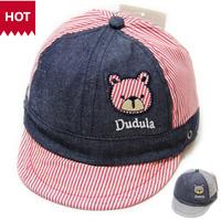 free shipping  wholesale 2014  hot sale  autumn male female child m0100 baby hat child hat cap baseball cap