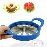 Watermelon hami melon cut fruit device stainless steel slitting fruit emperorship