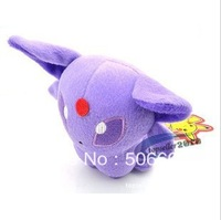 "5""Pokemon plush toys Pocket Monster eevee Espeon Children baby plush toys purple  10pcs/lot"