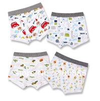 Quality The children cartoon printed boy placket boxer underwear,kid&amp;#39;s boxer shorts,72pcs random delivery