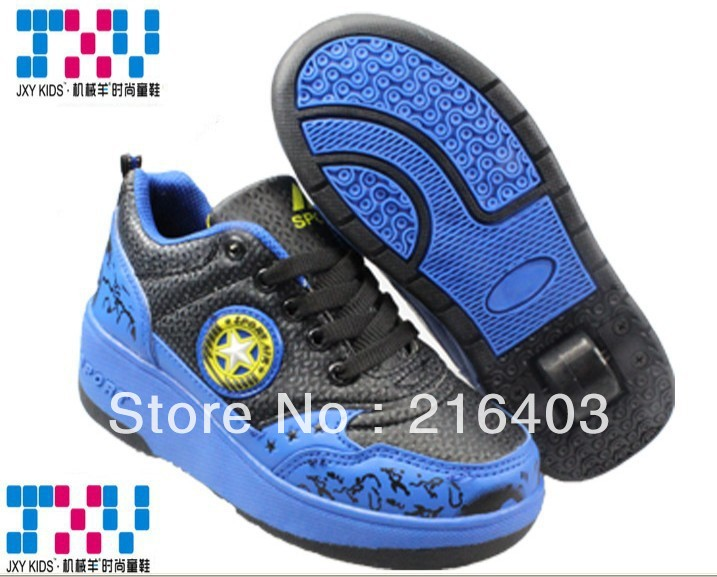 2013 the new style!FREE SHIPPING!children's leisure shoes,Pulley shoes,cheap shoes,3color,blue(China (Mainland))
