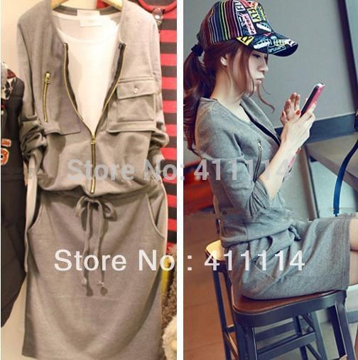 2014 new hot fashion cozy women clothing cute casual active sexy dress Elegant Slim Wild Sweet new sport Sashes(China (Mainland))