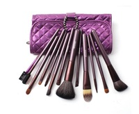 Free shipping  MEGAGA 12 Brush Set Loose Powder Brush Make-up Cosmetic Tools Cosmetic Brush Set