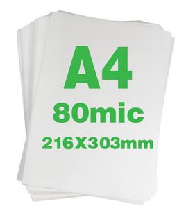 free shipping A4 plastic film 8c thick laminating film laminating film laminator film laminating paper 100 pcs