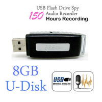Mini 8GB USB Drive Digital Audio Voice Recorders Pen 150 Hours Black