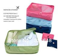 Free Shipping Monopoly Women Brand Waterproof Travel Storage Bag Oraganizer 2 SIZE L and S