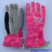 free shipping  Professional ultra high skiing supplies manufacturer scott Women ski gloves
