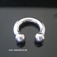 Fashion piercing accessories medical steel horseshoe earrings multi-purpose pa