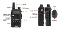 2013 Wholesale Baofeng UV-5R Dual band two way radio with 1800mAH battery free earphone In Stock  Free Shipping