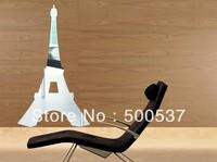 #36 Paris effiel tower  mirror wall decor, mirror sticker home decor wall sticker mirror wall stickers 20PCS/LOT, free shipping
