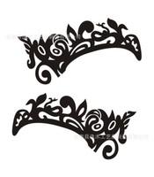Fashion Make Up Eyeshadow Eye Tattoo Sticker Language Option  French