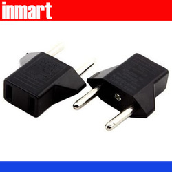 Hot Travel Converter Adapter 10 X US to EU AC Power Plug,Free shipping (TNT=SG/Swiss post)(China (Mainland))