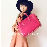 New arrival Fashion bags women's spring nubuck leather handbag 3 colors Free shipping