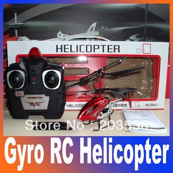 wholesale New Mini 2 Channel I/R Remote Control RC Helicopter With Gyro Kids Toy Gift Red Free shipping
