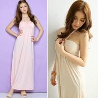Free shipping hou fashion women 70005 one-piece maxi evening dress