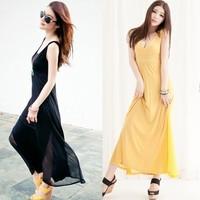 118658 elegant deep V-neck patchwork thin one-piece dress