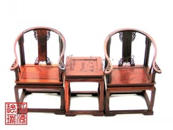 LY Mahogany micro miniature furniture crafts wood model high quality rosewood palace chair(China (Mainland))