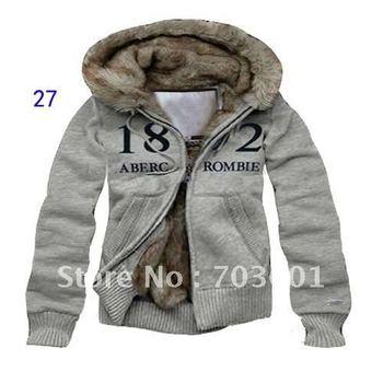 Free Shipping Men's Zipper Sweater Hoodies & Sweatshirts Jackets Coat Warm Outwear Thickened Pullove Size S,M,L,XL #AJ06