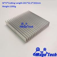 201*32.3*202mm  Aluminum Heat Sink  For DIY  LED light